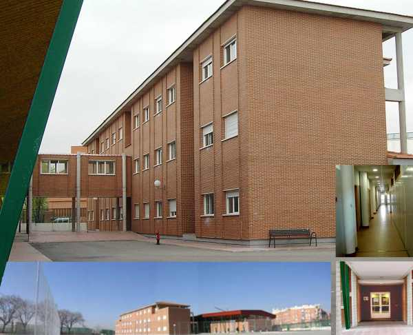 One of my schools, I.E.S. Madrid-Sur