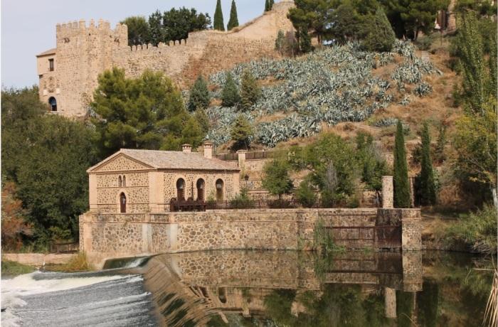 toledo building by water
