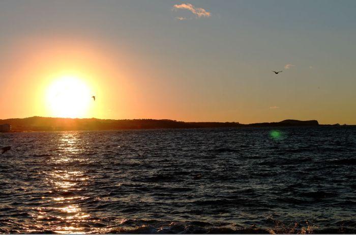 sunset cafe del mar