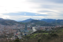 Bilbao from above.