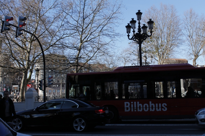 BILBOBUS! It never wore off seeing them. There were also Bilboats but they were sadly out of commission when we tried to go