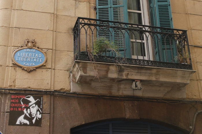"""We'll always have Bilbao"" on Calle Libertad"