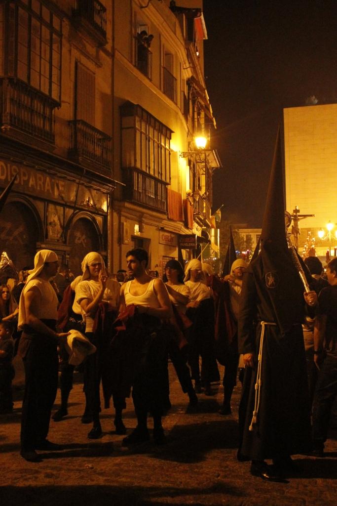 Costaleros in Sevilla