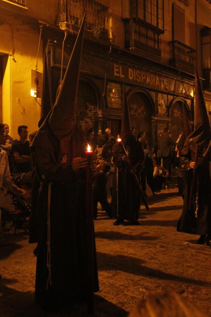 Sevilla. Looking at candle