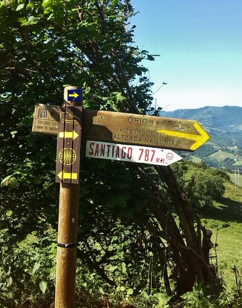 787 Santiago sign