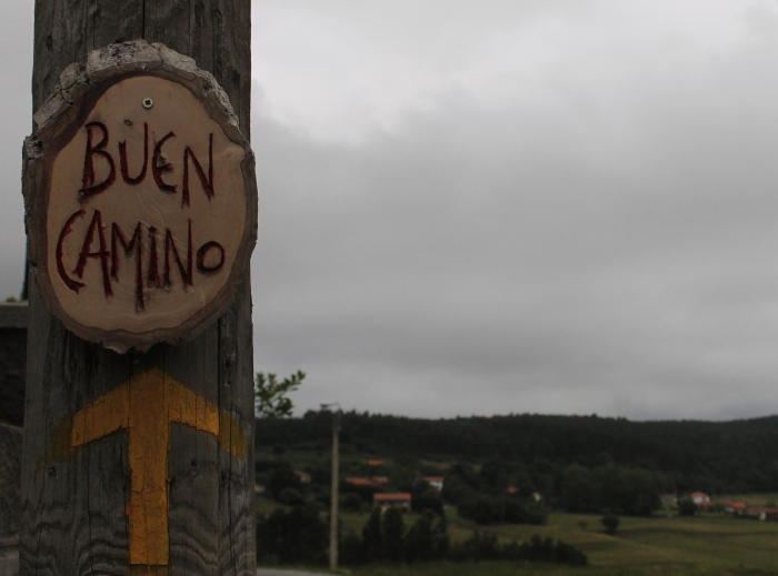 Buen Camino - the goodbye said on the road to with other pilgrims a good journey