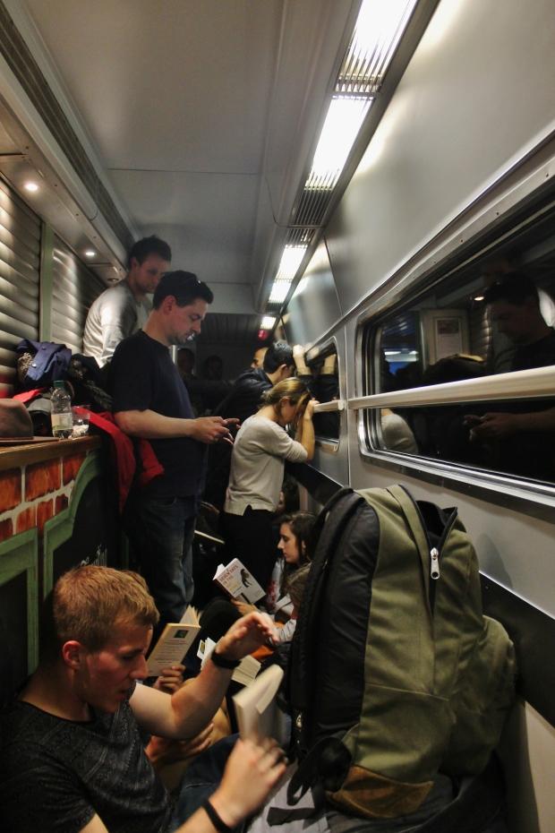 train to petersborough