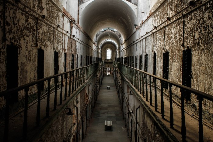 Visiting Eastern State Penitentiary was definitely one of my Philly highlights.